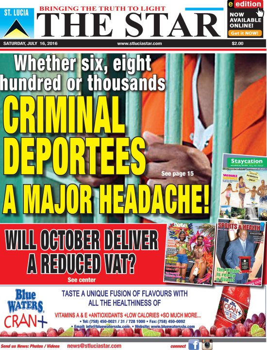 The STAR Newspaper for Saturday July 16th, 2016