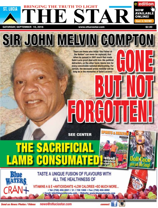 The STAR Newspaper for Saturday September 10th, 2016