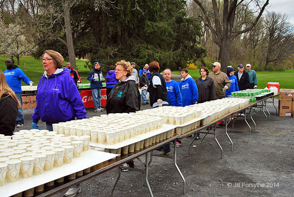 St. Luke's Half Marathon Volunteers