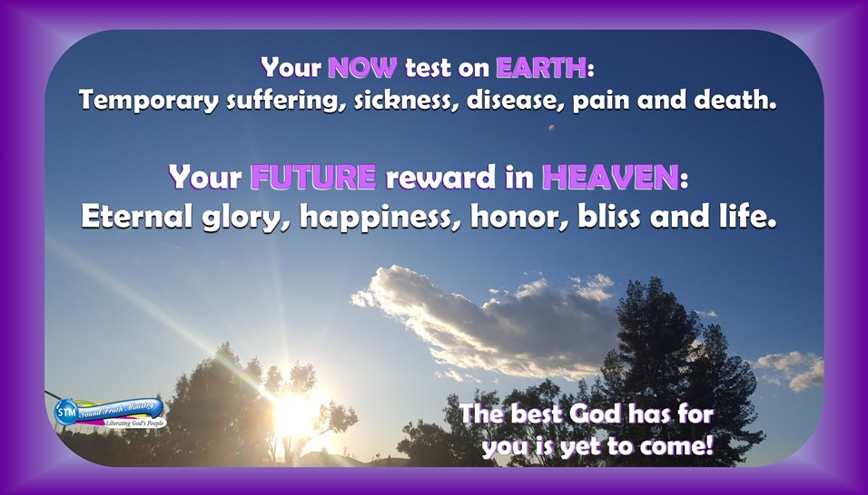 Heaven – The Best God Has For You Is Yet To Come