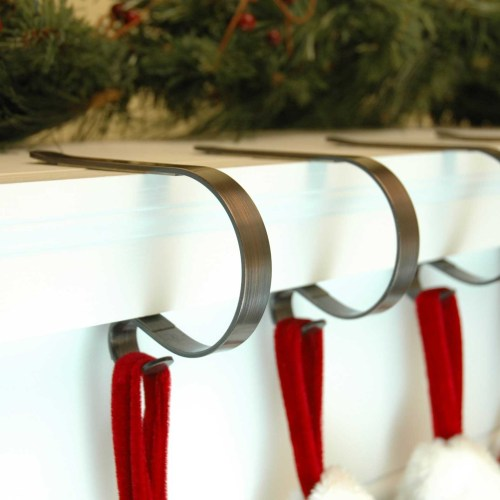 Medium Of Stocking Holders For Mantle