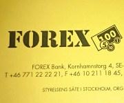 вывеска forex банка в стокгольме