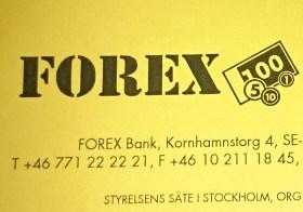 Где и как поменять деньги в Стокгольме?