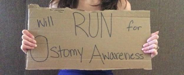 will run for ostomy awareness 5k resilience