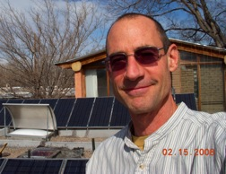 Andrew and his Solar Installation