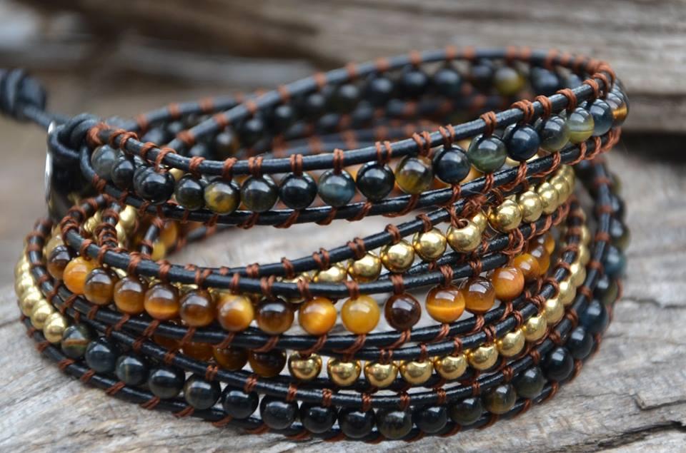 Leather Bracelets - Bracelets en cuir