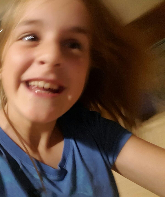 """Happy"" Sophia Lee Bartolini, age 11, New York"