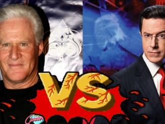 Oliver North vs. Jon Stewart