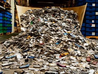discarded iphones