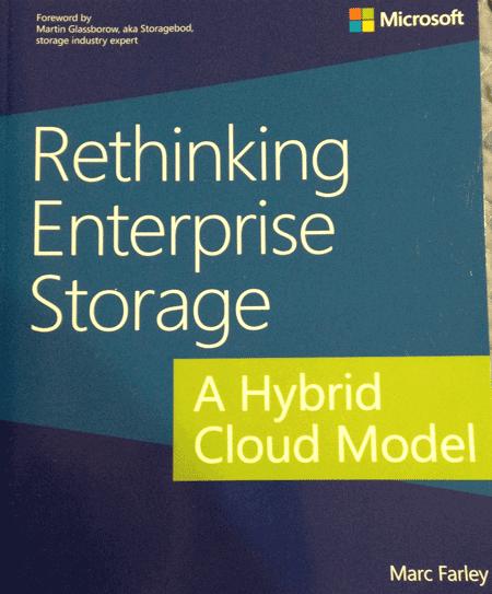 Rethinking Enterprise Storage - A Hybrid Cloud Model