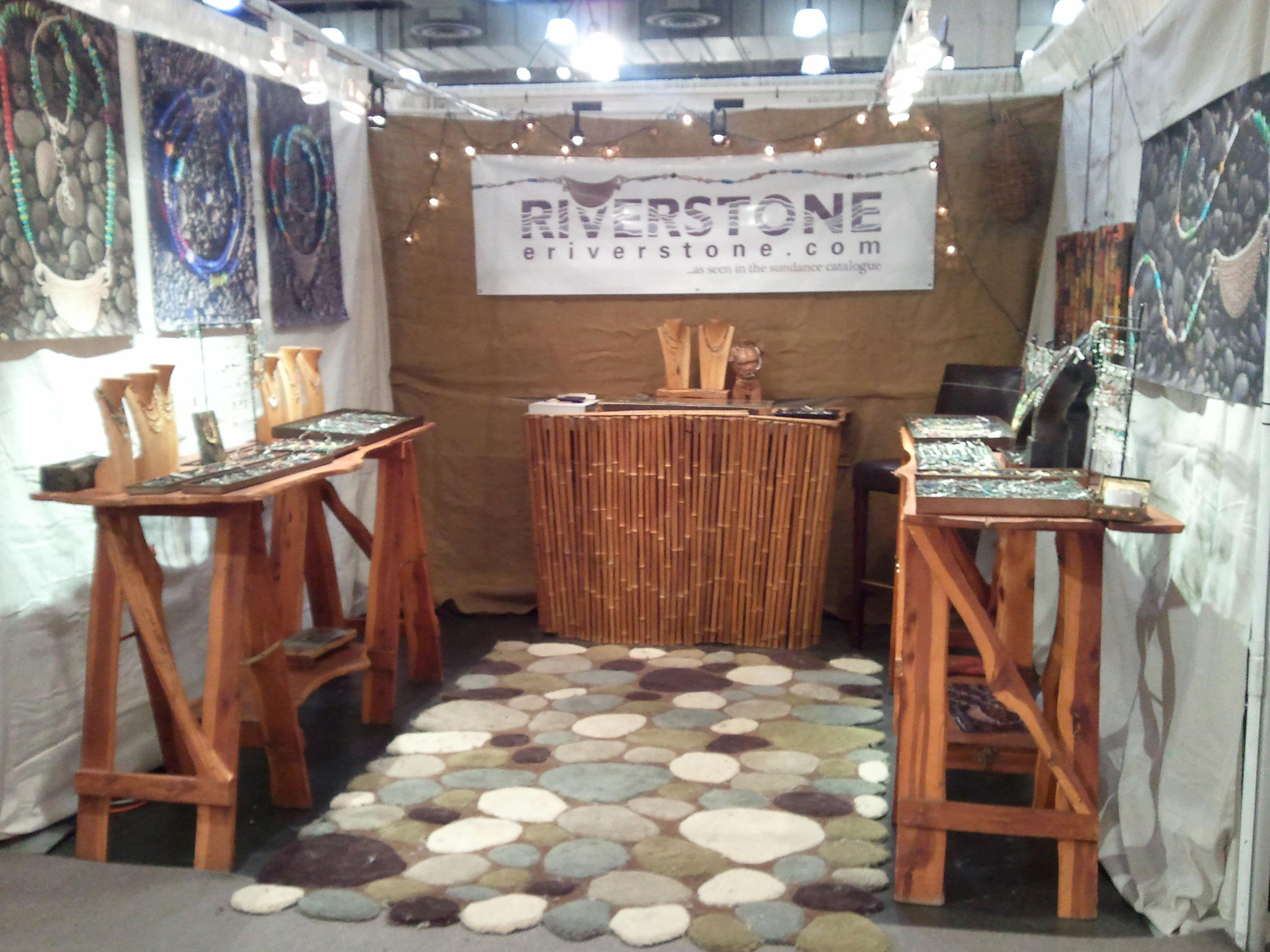 Jewelry Exhibition Booth Design : Riverstone custom jewelry craft fair appearances