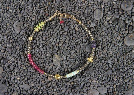 Fool's Gold Bracelet Pyrite