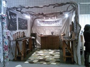 Riverstone Jewelry's booth at the New York Show