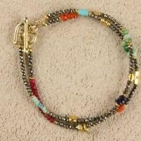 Double Pyrite Bracelet