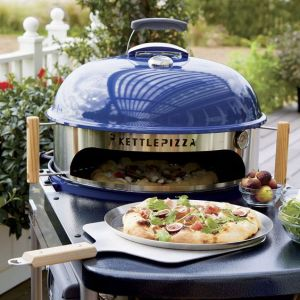 KettlePizza Deluxe USA Pizza Oven Kit for Kettle Grills