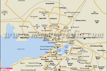 buy bhopal city map online