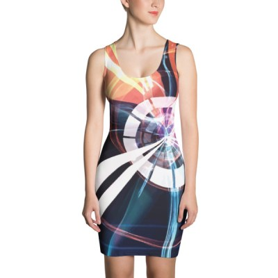 Vortex – Abstract Art Dress by Reformation Designs
