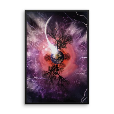 Equinox – Framed Abstract Wall Art by Reformation Designs