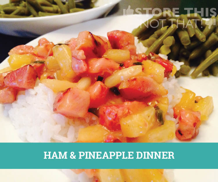 how to cook a ham with pineapple tidbits