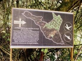 A map of La Minga