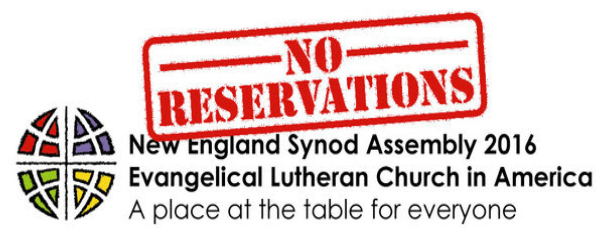 New England Synod Assembly 2016