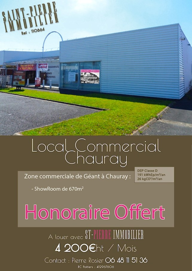 location local commercial a chauray