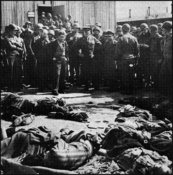Eisenhower at Ohrdruf Death Camp