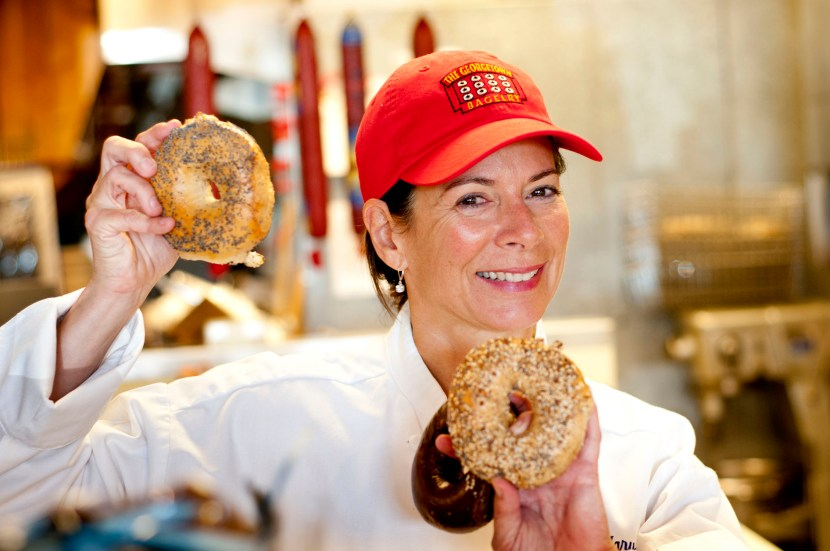 Mary Beall Adler, Georgetown Bagelry