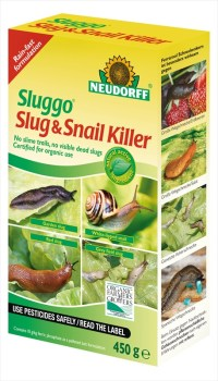 Neudorff Sluggo_Slug_Snail_Killer_450g available from Strawberry Garden Centre Uttoxeter