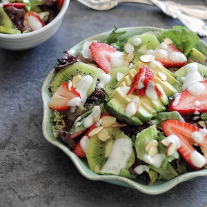 Gina's Strawberry Avocado Honey Lime Salad recipe