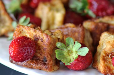 French Toast Strawberry Kabobs by Recipes, Food & Cooking