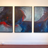 Eclipse – Large Abstract Painting