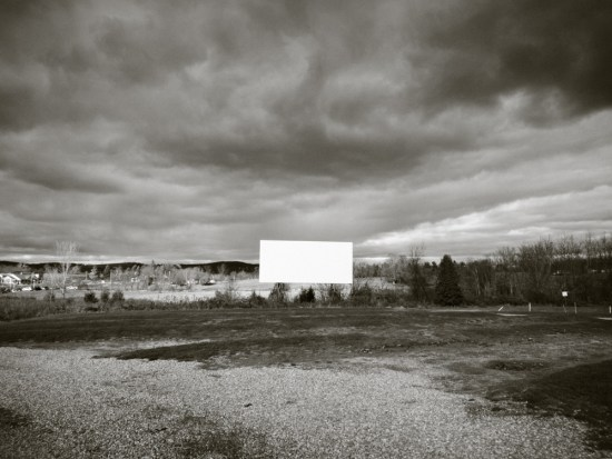 Drive-in Movie Theater Series of photographs by John Strazza