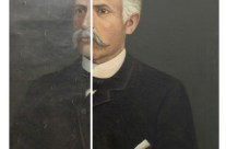 Old Oil Portrait Restored