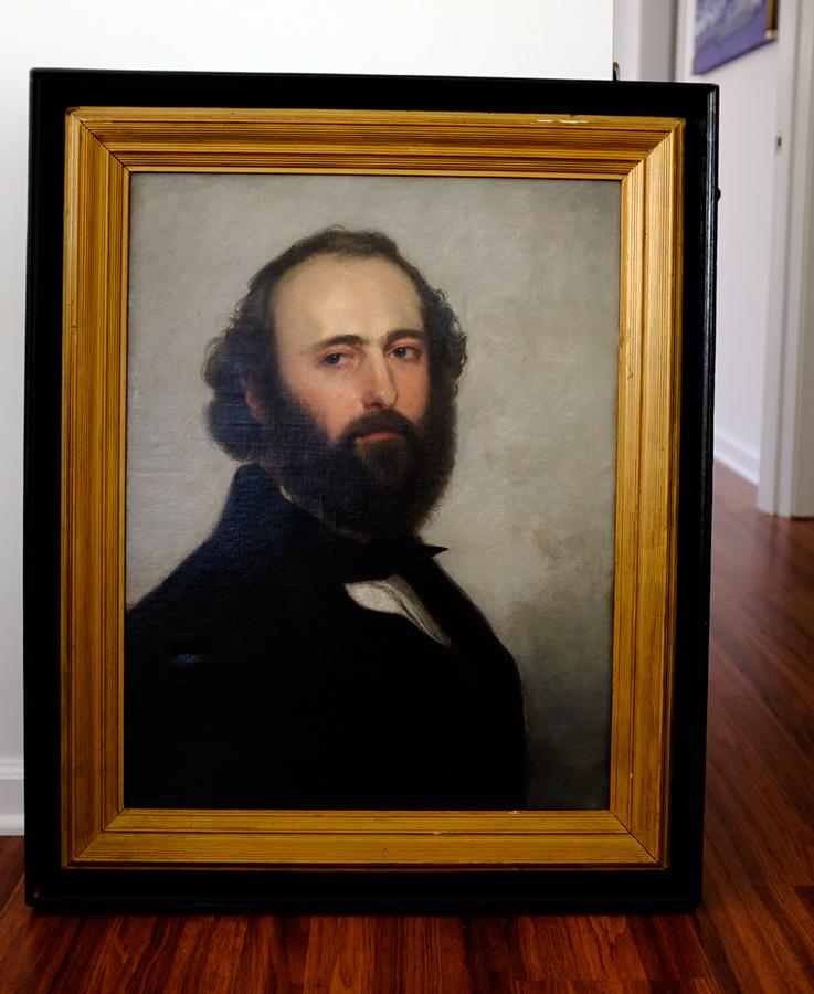 Oil Portrait Restored by Lisa Strazza