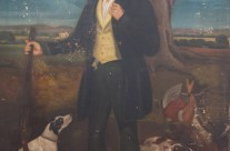 Old Hunting Painting Restored