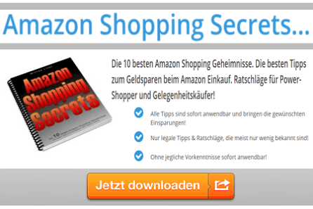 Amazon Shopping Secrets