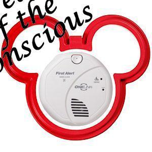 Mickey Smoke Alarm