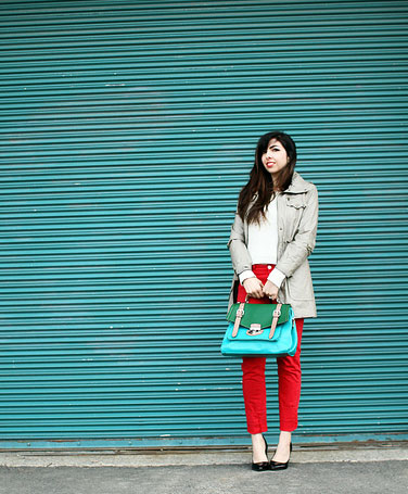 Photo Tips Fun With Color Street Fashion And Backdrops Street