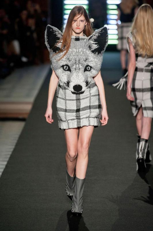 fox dress Jean Charles de Castelbajac