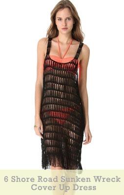 6 Shore Road Sunken Wreck Cover Up Dress