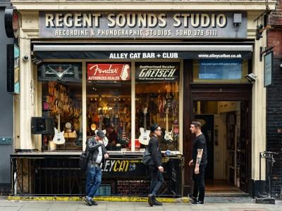 Photo of Regent Sounds guitar shop