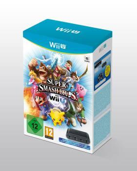Wii U Paket mit GameCube Controller Adapter