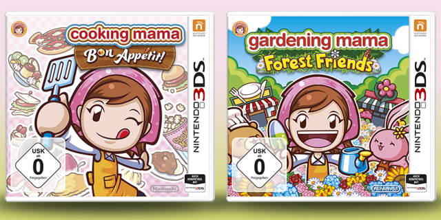 Cooking Mama Bon Appetit & Forest Friends