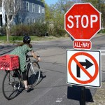 Trail users shouldn't have to stop