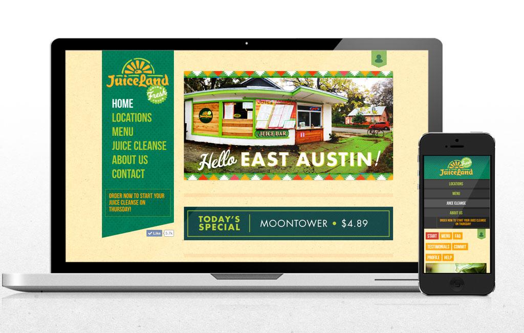 juiceland-website