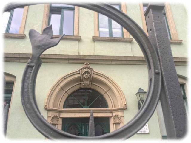 Türbogen-Stein an der Wittenberger Straße. Foto: Heiko Weckbrodt