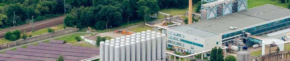 Auf dem Areal des Innovationskraftwerks Reick will die Drewag ein neue großes Kraftwerk bauen. Daher ziehen die Stadtwerke nun eine neue Stromtrasse von Reick nach Prohlis. Foto: Drewag