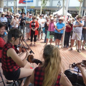 String Loaded busking 2016