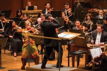 Violinist Leila Josefowicz 002